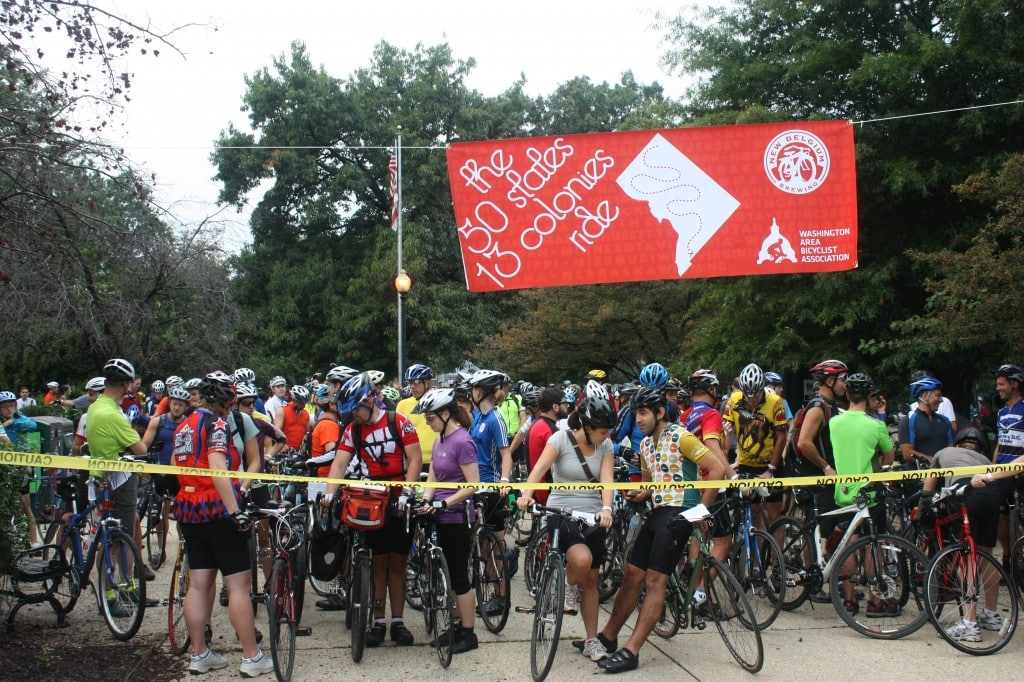 50 States 2011 - banner and riders