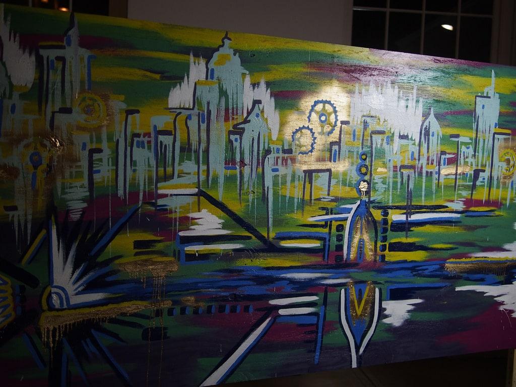 Biketopia mural