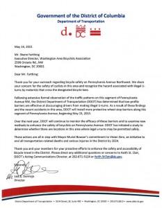 Penn Ave Park-it Letter