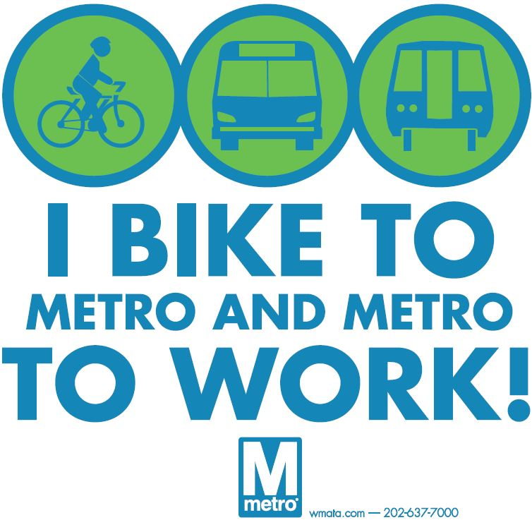 Bikes On Metro Dc Bike to Work Day is just over